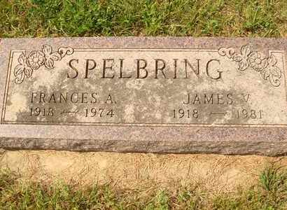 SPELBRING, FRANCES A. - Hanson County, South Dakota | FRANCES A. SPELBRING - South Dakota Gravestone Photos