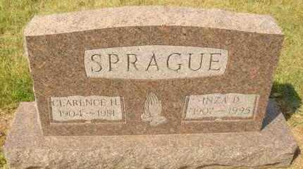 SPRAGUE, CLARENCE H. - Hanson County, South Dakota | CLARENCE H. SPRAGUE - South Dakota Gravestone Photos