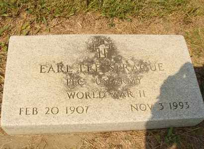SPRAGUE, EARL LEE - Hanson County, South Dakota | EARL LEE SPRAGUE - South Dakota Gravestone Photos