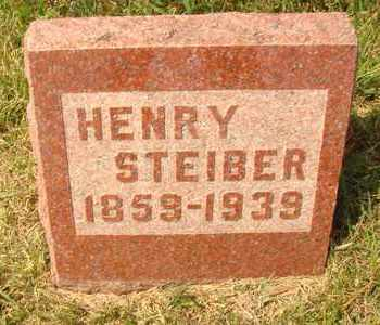 STEIBER, HENRY - Hanson County, South Dakota | HENRY STEIBER - South Dakota Gravestone Photos