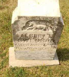 SWENSON, ALBERT E. - Hanson County, South Dakota | ALBERT E. SWENSON - South Dakota Gravestone Photos