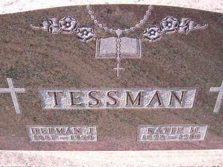 TESSMAN, HERMAN J. - Hanson County, South Dakota | HERMAN J. TESSMAN - South Dakota Gravestone Photos