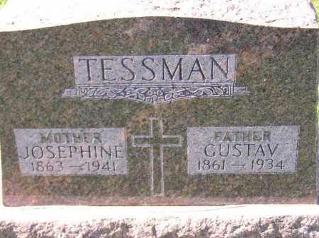 TESSMAN, JOSEPHINE - Hanson County, South Dakota | JOSEPHINE TESSMAN - South Dakota Gravestone Photos