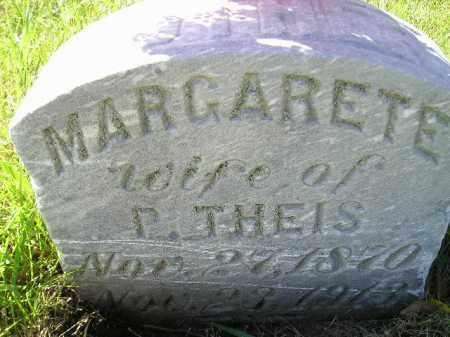 THEIS, MARGARETE - Hanson County, South Dakota | MARGARETE THEIS - South Dakota Gravestone Photos