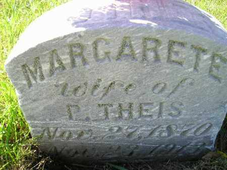 THEIS, MARGARETE - Hanson County, South Dakota | MARGARETE THEIS - South Dakota Gravestone Photos