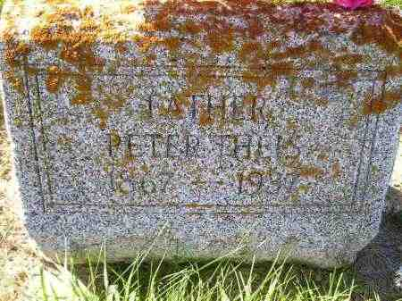 THEIS, PETER - Hanson County, South Dakota | PETER THEIS - South Dakota Gravestone Photos