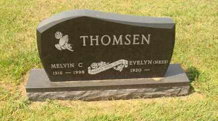 NESS THOMSEN, EVELYN - Hanson County, South Dakota | EVELYN NESS THOMSEN - South Dakota Gravestone Photos