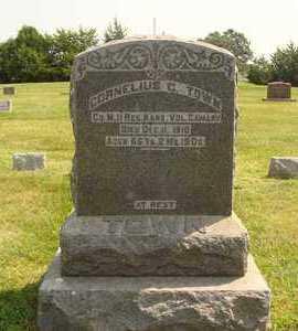 TOWN, CORNELIUS C. - Hanson County, South Dakota | CORNELIUS C. TOWN - South Dakota Gravestone Photos