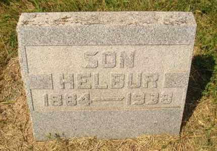 TOWN, HELBUR - Hanson County, South Dakota   HELBUR TOWN - South Dakota Gravestone Photos