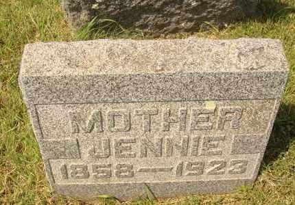TOWN, JENNIE - Hanson County, South Dakota   JENNIE TOWN - South Dakota Gravestone Photos