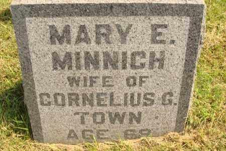 MINNICH TOWN, MARY E. - Hanson County, South Dakota | MARY E. MINNICH TOWN - South Dakota Gravestone Photos