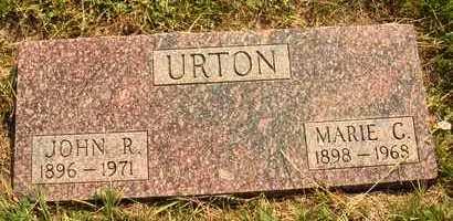 URTON, MARIE C. - Hanson County, South Dakota   MARIE C. URTON - South Dakota Gravestone Photos