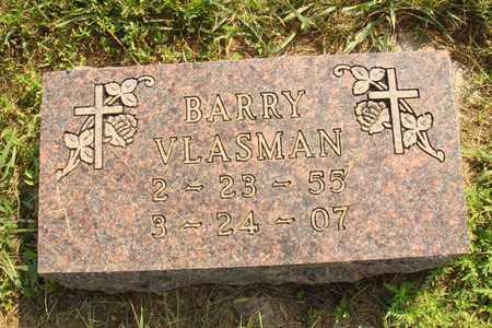 VLASMAN, BARRY - Hanson County, South Dakota   BARRY VLASMAN - South Dakota Gravestone Photos