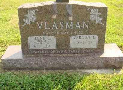 VLASMAN, VERNON E. - Hanson County, South Dakota | VERNON E. VLASMAN - South Dakota Gravestone Photos