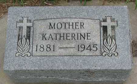 VOLZ, KATHERINE - Hanson County, South Dakota   KATHERINE VOLZ - South Dakota Gravestone Photos