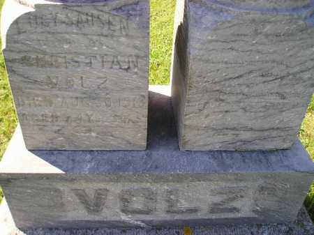SAUSEN VOLZ, LUCY - Hanson County, South Dakota   LUCY SAUSEN VOLZ - South Dakota Gravestone Photos