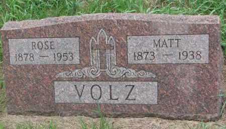 VOLZ, ROSE - Hanson County, South Dakota | ROSE VOLZ - South Dakota Gravestone Photos