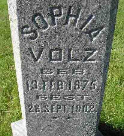 VOLZ, SOPHIA - Hanson County, South Dakota | SOPHIA VOLZ - South Dakota Gravestone Photos