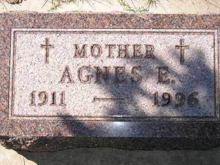 WAGNER, AGNES E. - Hanson County, South Dakota | AGNES E. WAGNER - South Dakota Gravestone Photos