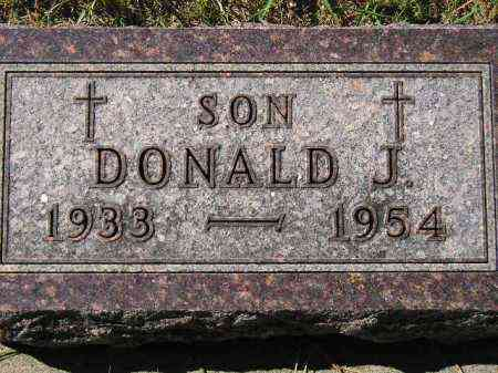WAGNER, DONALD J. - Hanson County, South Dakota | DONALD J. WAGNER - South Dakota Gravestone Photos
