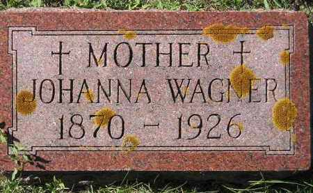 WAGNER, JOHANNA - Hanson County, South Dakota | JOHANNA WAGNER - South Dakota Gravestone Photos