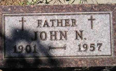 WAGNER, JOHN N. - Hanson County, South Dakota | JOHN N. WAGNER - South Dakota Gravestone Photos