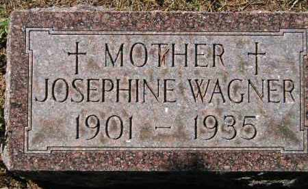 WAGNER, JOSEPHINE - Hanson County, South Dakota | JOSEPHINE WAGNER - South Dakota Gravestone Photos