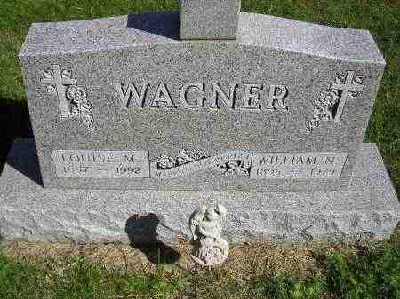WAGNER, WILLIAM N. - Hanson County, South Dakota | WILLIAM N. WAGNER - South Dakota Gravestone Photos