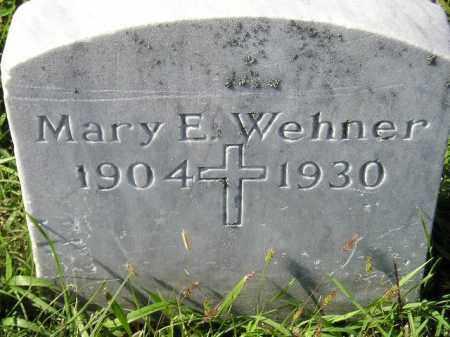 WEHNER, MARY E. - Hanson County, South Dakota | MARY E. WEHNER - South Dakota Gravestone Photos