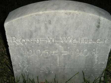 WEHNER, ROSA M. - Hanson County, South Dakota | ROSA M. WEHNER - South Dakota Gravestone Photos