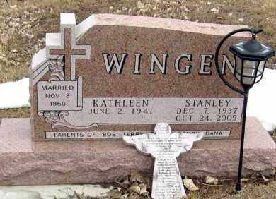 WINGEN, STANLEY - Hanson County, South Dakota | STANLEY WINGEN - South Dakota Gravestone Photos