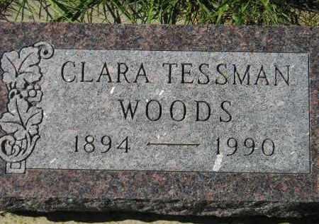 WOODS, CLARA - Hanson County, South Dakota | CLARA WOODS - South Dakota Gravestone Photos