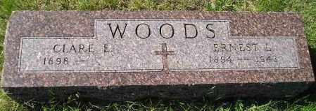 WOODS, CLARE E. - Hanson County, South Dakota | CLARE E. WOODS - South Dakota Gravestone Photos