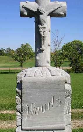 WOODS, FAMILY STONE - Hanson County, South Dakota | FAMILY STONE WOODS - South Dakota Gravestone Photos