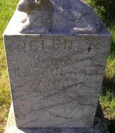 WOODS, HELEN - Hanson County, South Dakota | HELEN WOODS - South Dakota Gravestone Photos
