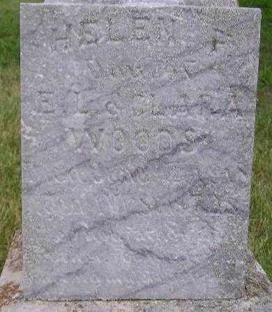 WOODS, HELEN F. - Hanson County, South Dakota | HELEN F. WOODS - South Dakota Gravestone Photos