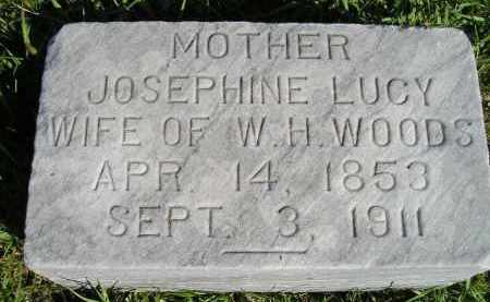 WOODS, JOSEPHINE LUCY - Hanson County, South Dakota | JOSEPHINE LUCY WOODS - South Dakota Gravestone Photos