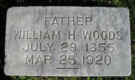 WOODS, WILLIAM H. - Hanson County, South Dakota | WILLIAM H. WOODS - South Dakota Gravestone Photos