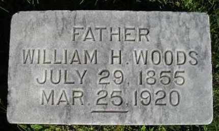 WOODS, WILLIAM H. - Hanson County, South Dakota | WILLIAM H. WOODS - South Dakota Gravestone Photos