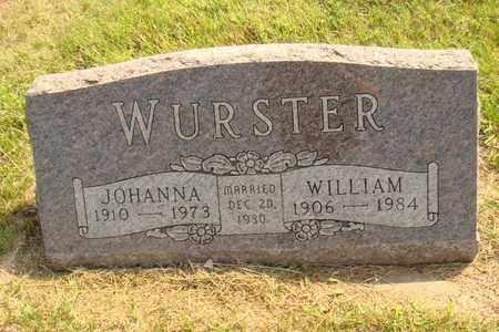 WURSTER, JOHANNA - Hanson County, South Dakota | JOHANNA WURSTER - South Dakota Gravestone Photos