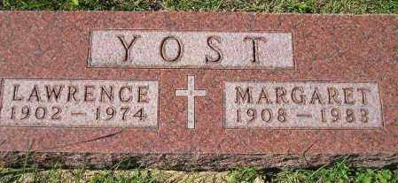 YOST, LAWRENCE - Hanson County, South Dakota | LAWRENCE YOST - South Dakota Gravestone Photos