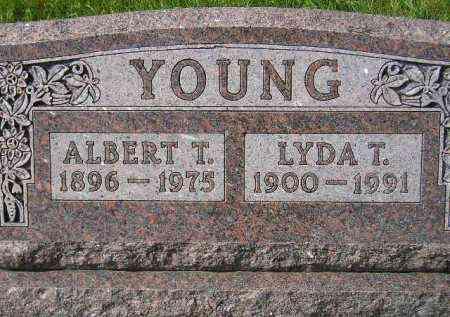 YOUNG, ALBERT T. - Hanson County, South Dakota | ALBERT T. YOUNG - South Dakota Gravestone Photos