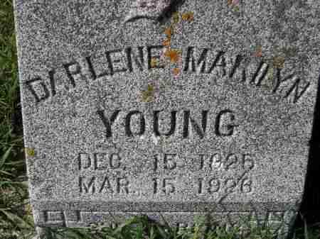 YOUNG, DARLENE MARILYN - Hanson County, South Dakota | DARLENE MARILYN YOUNG - South Dakota Gravestone Photos