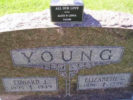 YOUNG, ELIZABETH G. - Hanson County, South Dakota | ELIZABETH G. YOUNG - South Dakota Gravestone Photos