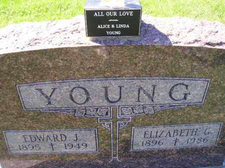 YOUNG, EDWARD J. - Hanson County, South Dakota | EDWARD J. YOUNG - South Dakota Gravestone Photos