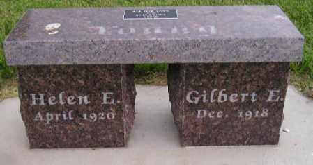 YOUNG, HELEN E. - Hanson County, South Dakota   HELEN E. YOUNG - South Dakota Gravestone Photos