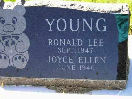 YOUNG, RONALD LEE - Hanson County, South Dakota | RONALD LEE YOUNG - South Dakota Gravestone Photos