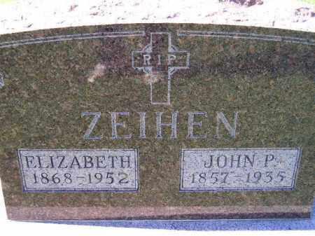 ZEIHEN, JOHN P. - Hanson County, South Dakota   JOHN P. ZEIHEN - South Dakota Gravestone Photos