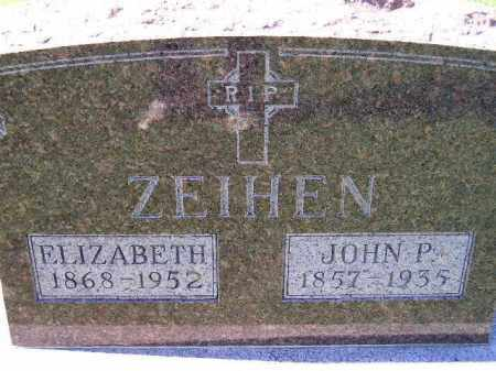 ZEIHEN, JOHN P. - Hanson County, South Dakota | JOHN P. ZEIHEN - South Dakota Gravestone Photos