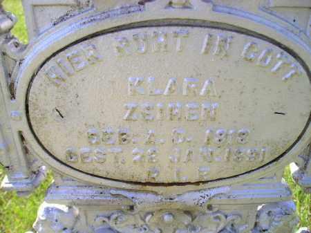 ZEIHEN, KLARA - Hanson County, South Dakota | KLARA ZEIHEN - South Dakota Gravestone Photos
